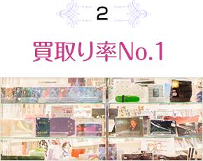 2.買取り率No.1